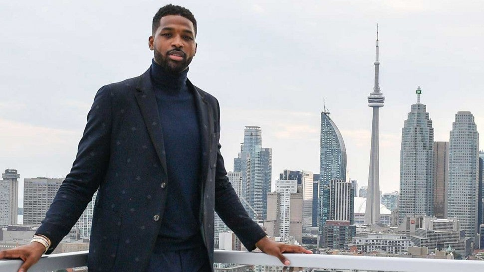 Tristan Thompson at an Epilepsy Toronto Gala in Canada in August 2018
