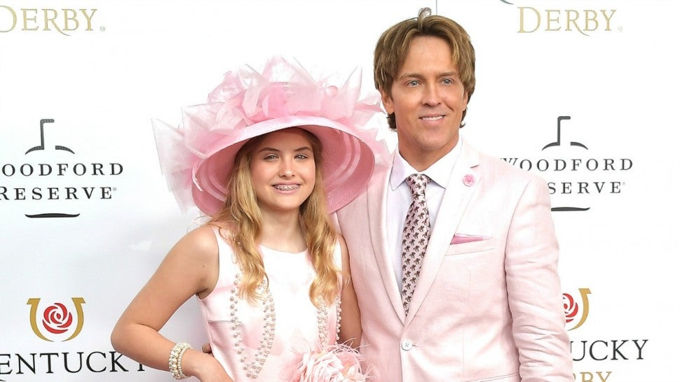 Anna Nicole Smith's girl honours mom with Kentucky Derby outfit
