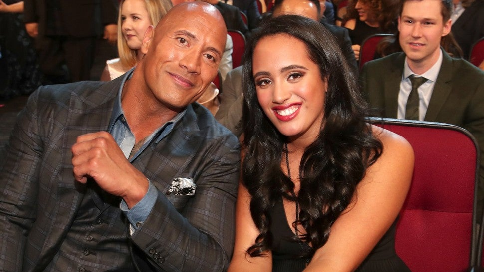 The Rock's Daughter Reportedly Tops Impressive List At WWE PC