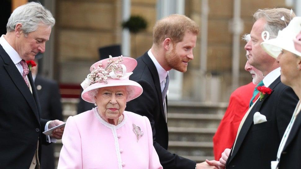 World Cup captains meet Queen Elizabeth II