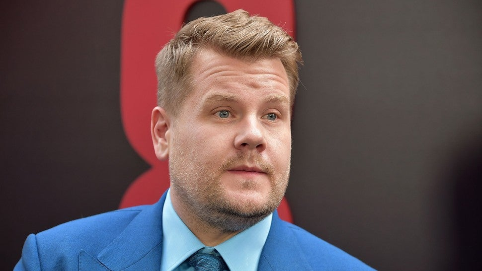 James Corden Claps Back After Troll Tweets 'I Hope His Kid ...