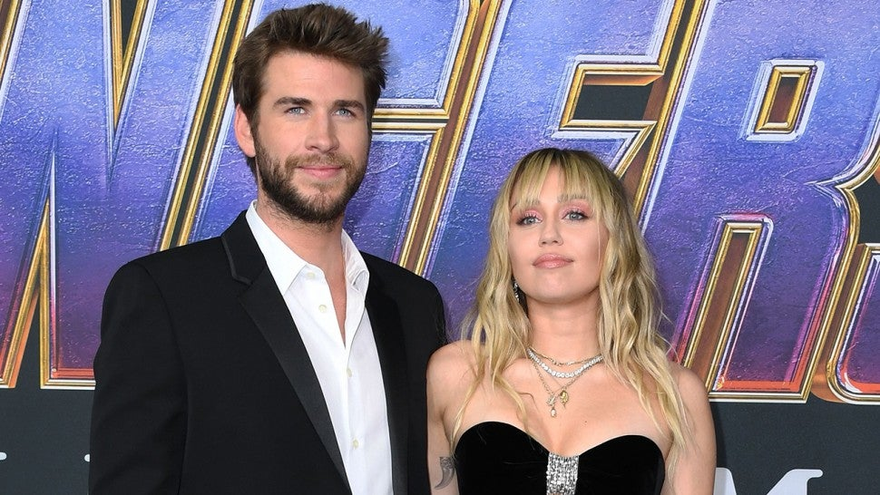 Miley Cyrus & Liam Hemsworth Can't Be Tamed at the 2019 Met Gala