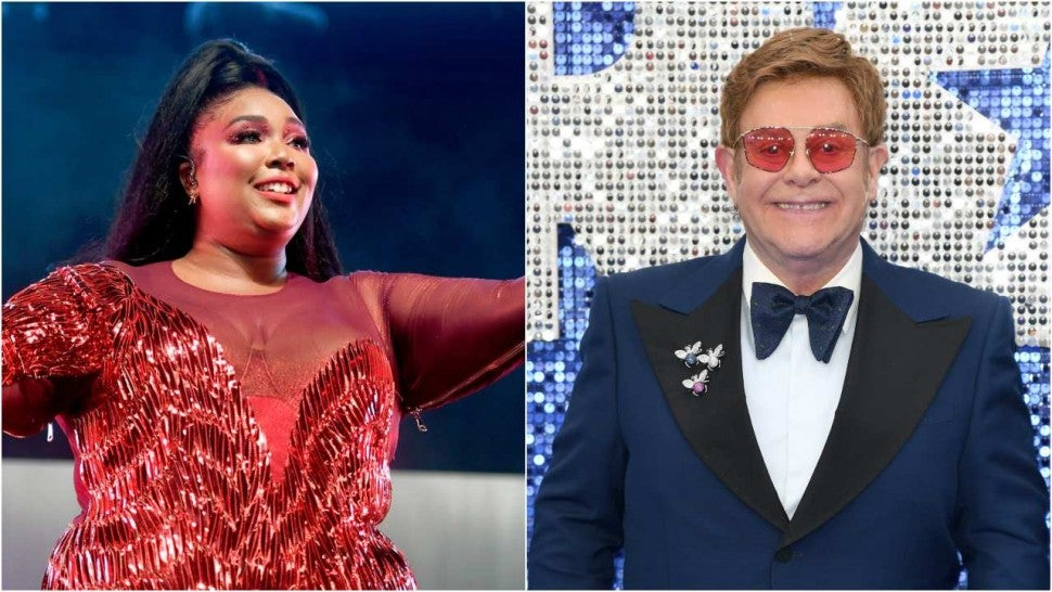 Lizzo Can't Get Over Elton John Saying Her Name in ET Interview