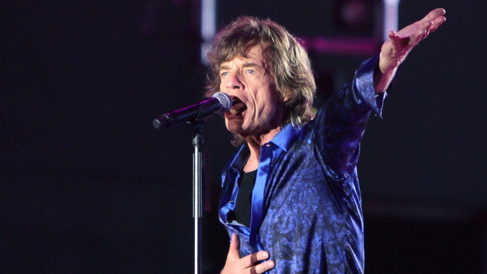Mick Jagger Is Back Dancing After Heart Surgery, Rolling