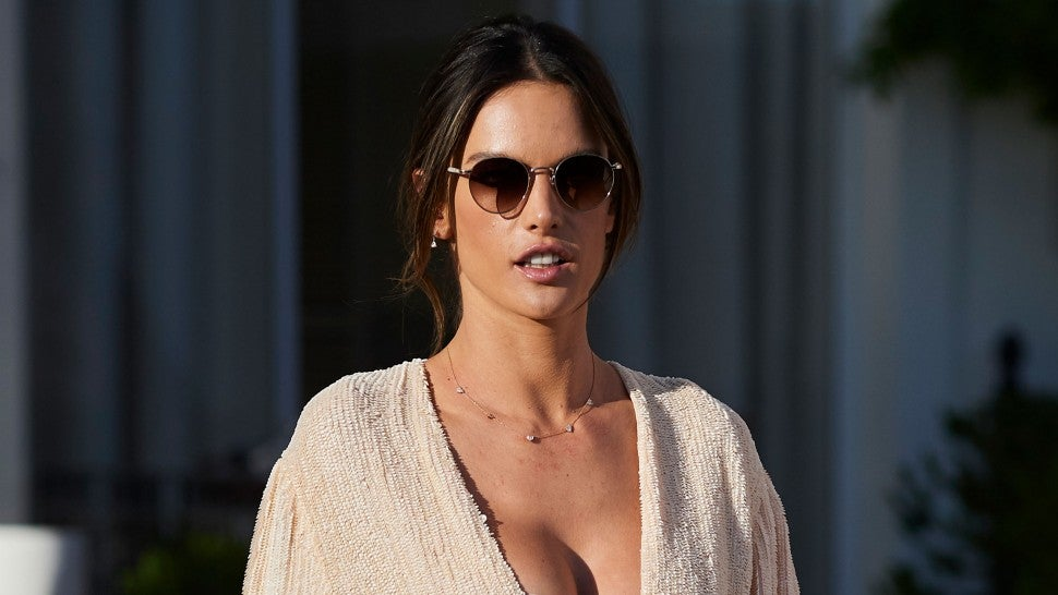 Alessandra Ambrosio in Cannes on may 15