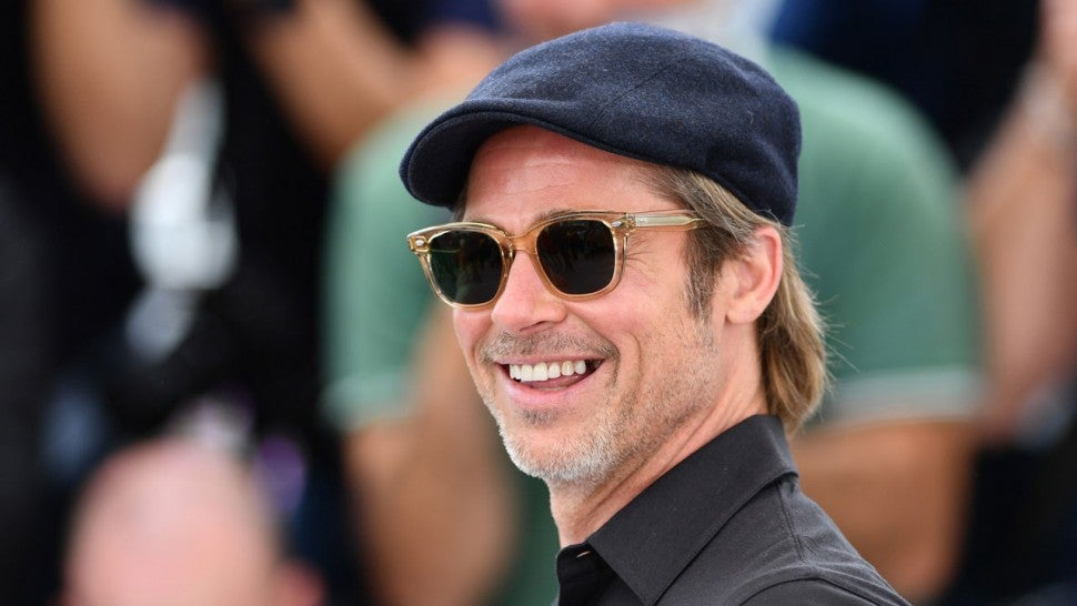 Brad Pitt at Once Upon a Time photocall on may 22