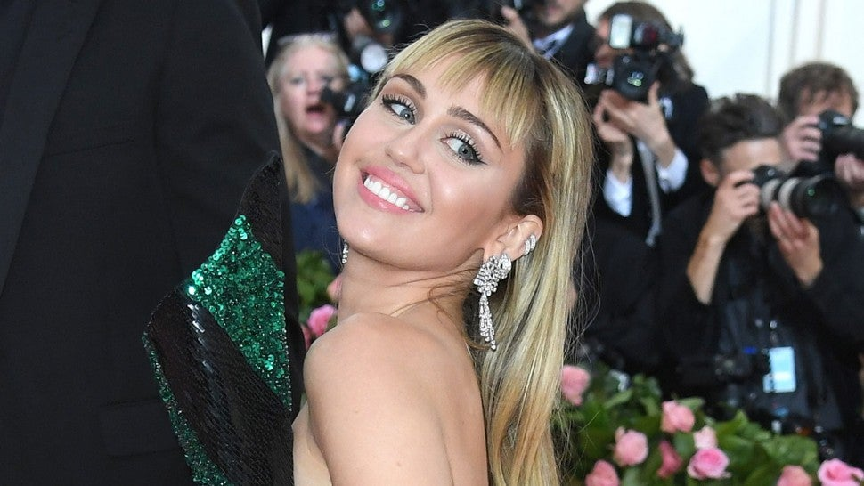 Miley Cyrus at 2019 met gala