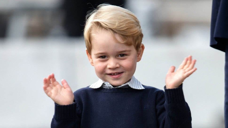 Prince George in October 2016