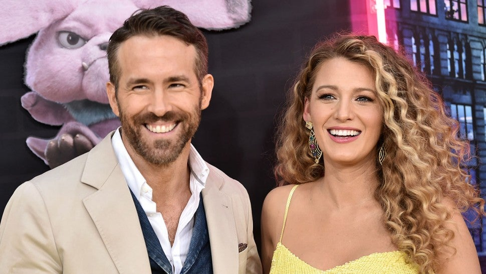 Ryan Reynolds and Blake Lively at Pokemon Detective Pikachu premiere