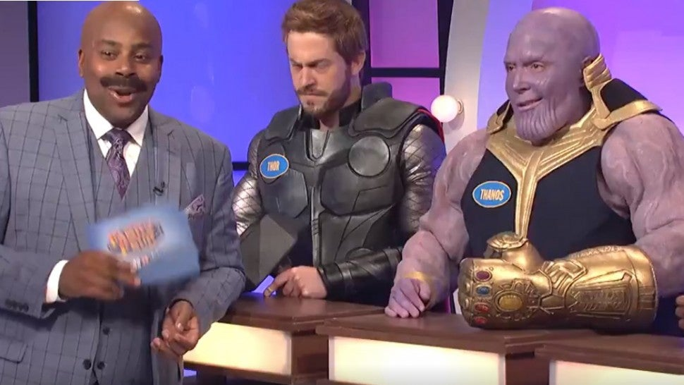 'SNL': 'Game of Thrones' Characters Take on 'Avengers' in Epic 'Family Feud' Cold Open