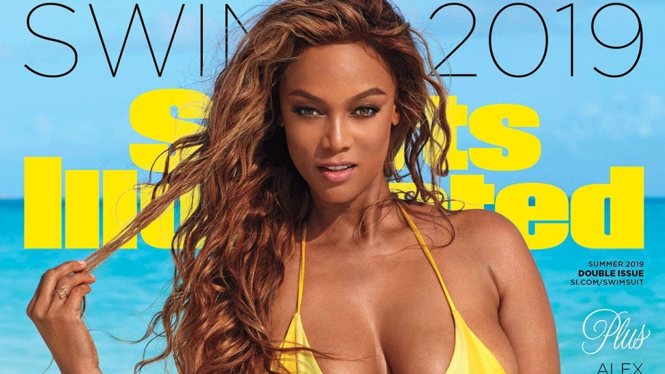 At 45, Tyra Banks is Sports Illustrated's swimsuit cover model again