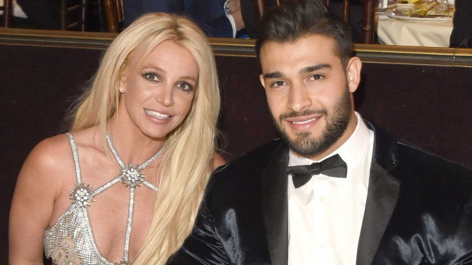 Britney Spears' and her boyfriend, Sam Asghari.