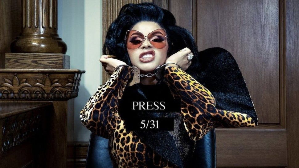 Cardi B fires back at bad 'Press' in long-teased new track
