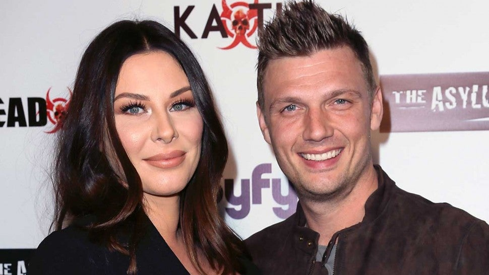 Lauren Kitt and Nick Carter