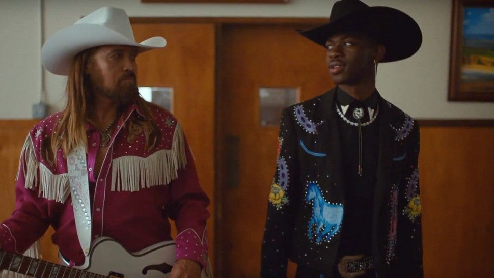 Billy Ray Cyrus and Lil Nas X in Old Town Road Video