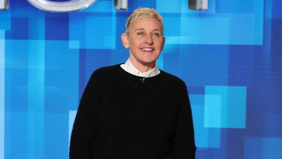 Ellen DeGeneres on 'The Ellen DeGeneres Show'