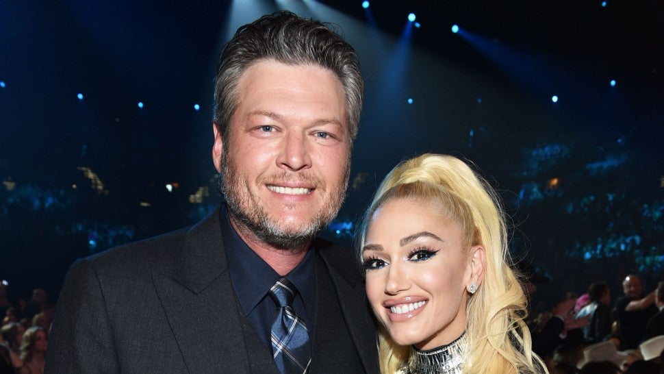 Blake Shelton and Gwen Stefani at ACMs 2019