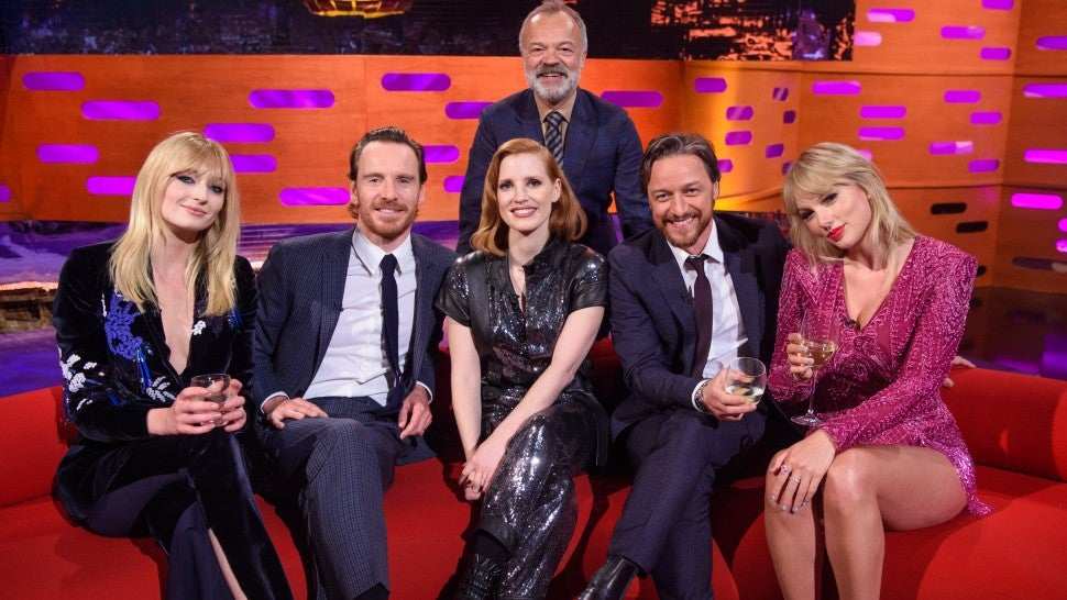 Image result for sophie turner and taylor swift on graham norton