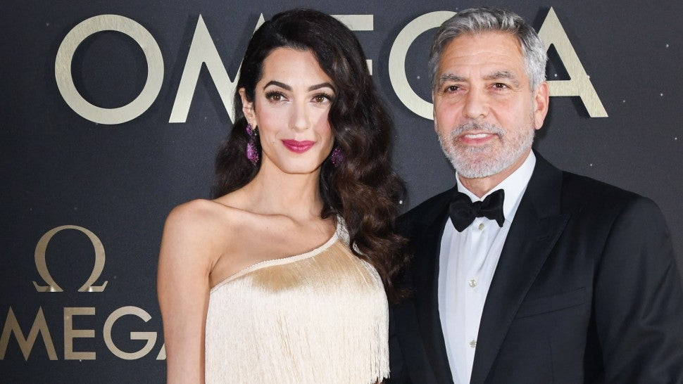 Amal Clooney Is the Definition of Glamour in Fringe Dress