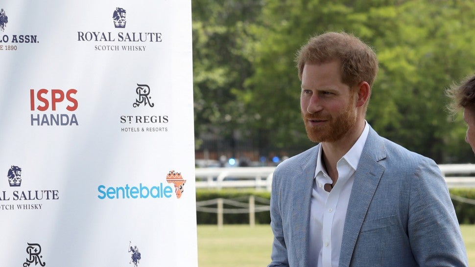 Prince Harry Steps Out Solo for Polo Match in Rome