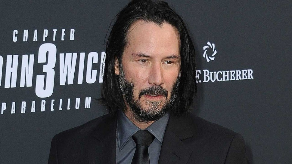 Kids have started calling Keanu Reeves the 'Fortnite guy'