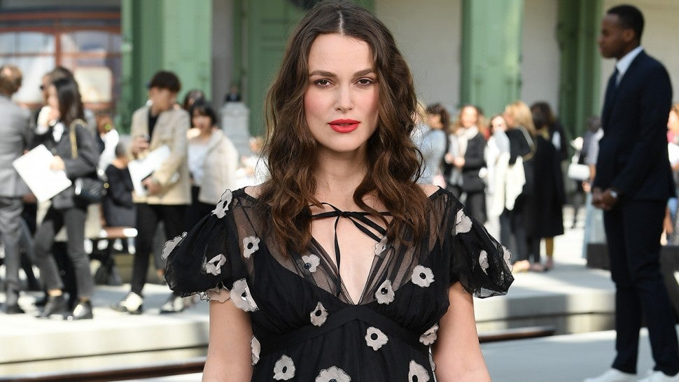 Keira Knightley Attends Chanel Show for New Collection Following Pregnancy Reveal
