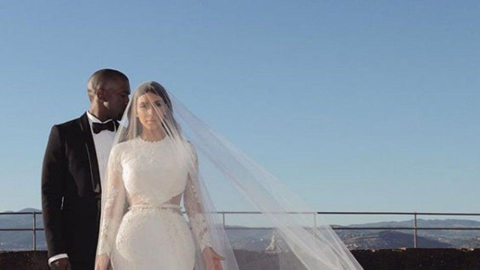 6fe5078a73 Happy Anniversary, Kimye! Look Back at Kim Kardashian and Kanye ...