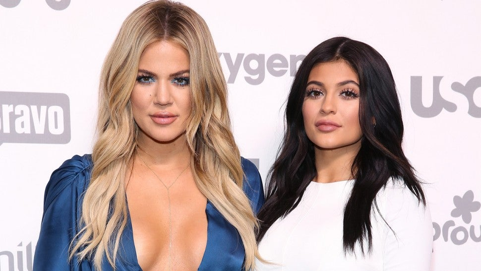 c7e50191327 Kylie Jenner and Khloe Kardashian 1280. Robin Marchant/Getty Images. Get  your wallet ready as the cow print swimsuit ...