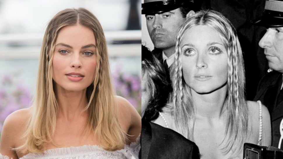 Margot Robbie Channels Sharon Tate at 'Once Upon a Time in Hollywood' Cannes Photocall