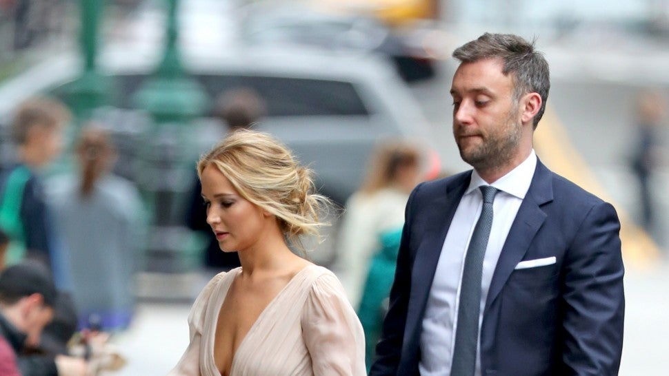 Jennifer Lawrence's stylists share a glimpse of her engagement garden party