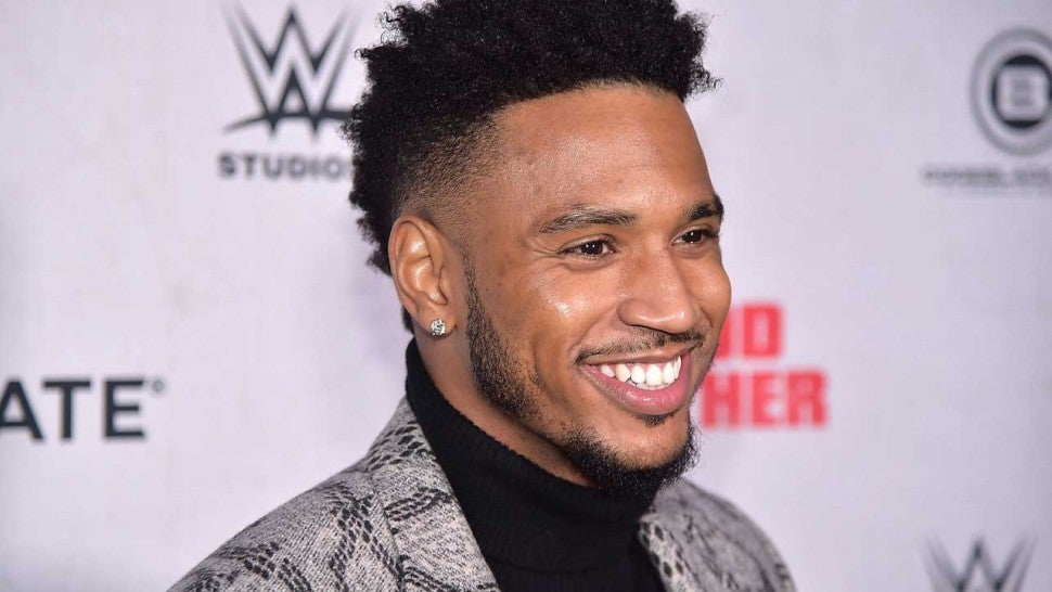 Trey Songz Reveals He's a Father by Sharing Adorable Pic of Son Noah: 'We Are Blessed and Overjoyed'