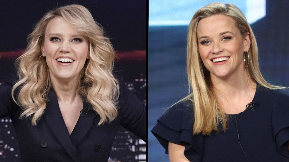 Kate McKinnon and Reese Witherspoon