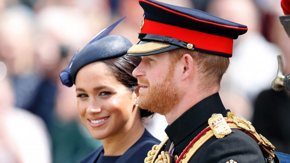 Unreleased Prince Harry and Meghan Markle Photo Spotted Inside Palace -- Pic!