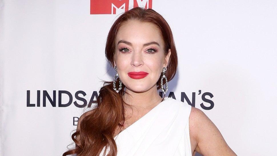 Lindsay Lohan Reacts t...