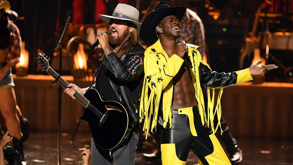 Lil Nas X and Billy Ray Cyrus Shut Down the BET Awards 2019 With 'Old Town Road' Performance