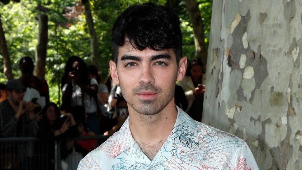 Joe Jonas Watches Ex Gigi Hadid Walk In Paris Fashion Week Show