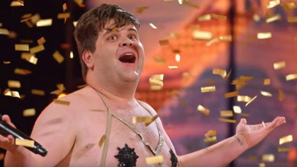 'America's Got Talent': Hilarious Dancer 'Accidentally' Hits His Own Golden Buzzer