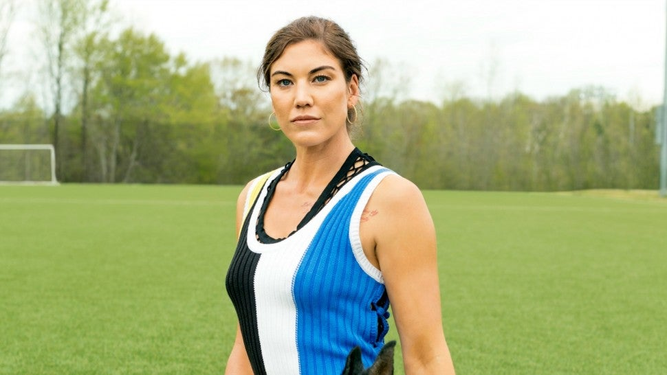 Hope Solo Elle Magazine