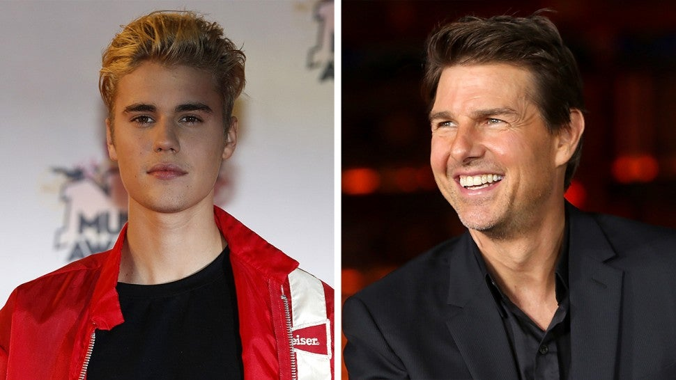 Justin Bieber Challenges Tom Cruise to a Fight