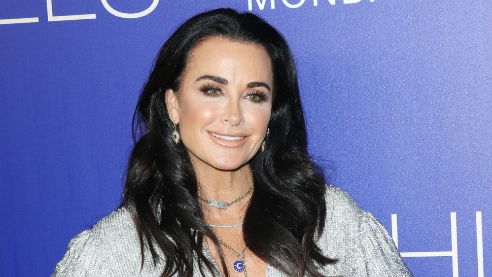 Kyle Richards at the premiere of 'The Hills: New Beginnings.'