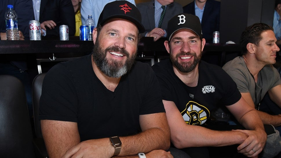 John Krasinski Trolls 'The Office' Co-Star Jenna Fischer at Stanley Cup Finals