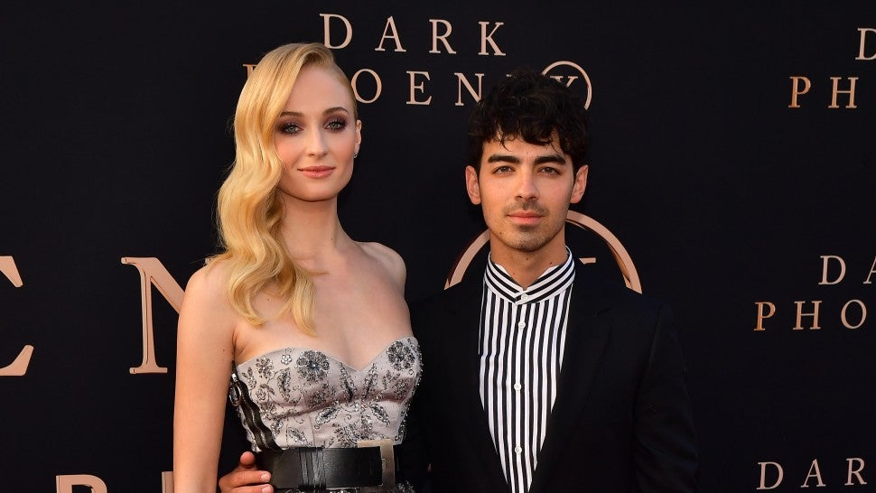 Sophie Turner and Joe Jonas Dark Phoenix Premiere