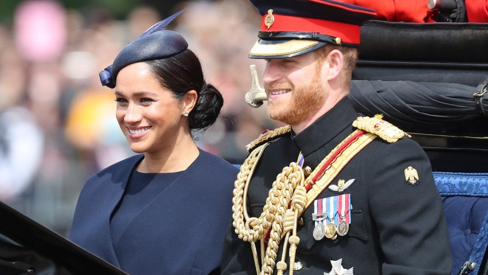 Meghan Markle Makes First Royal Appearance Since Giving