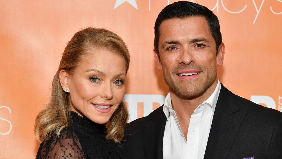 Kelly Ripa and Mark Consuelos 2019 TrevorLIVE New York Gala