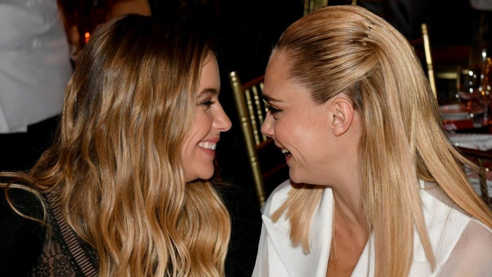Cara Delevingne steps out with Ashley Benson after kissing video