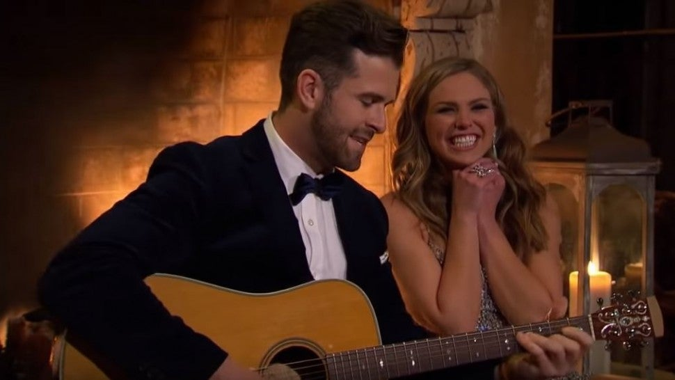 'Bachelorette' Hannah Brown Says She 'Already Kind of Knew' Jed Came on the Show to Promote Music (Exclusive)