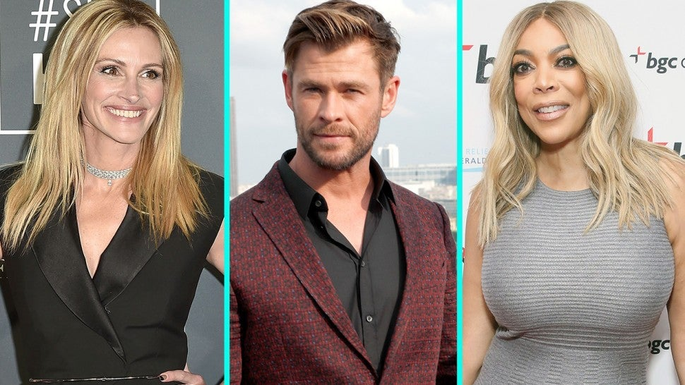 Julia Roberts, Chris Hemsworth, Wendy Williams & More to