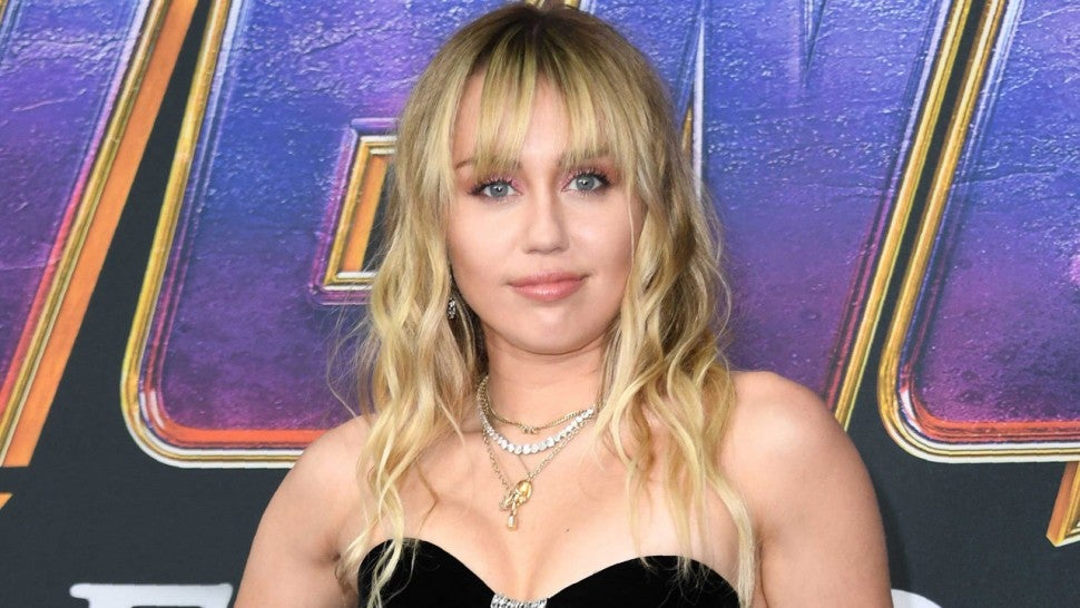 Miley Cyrus haircut bangs 1280