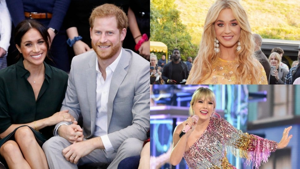 Meghan Markle Taylor Swift Katy Perry Pride Month 2019