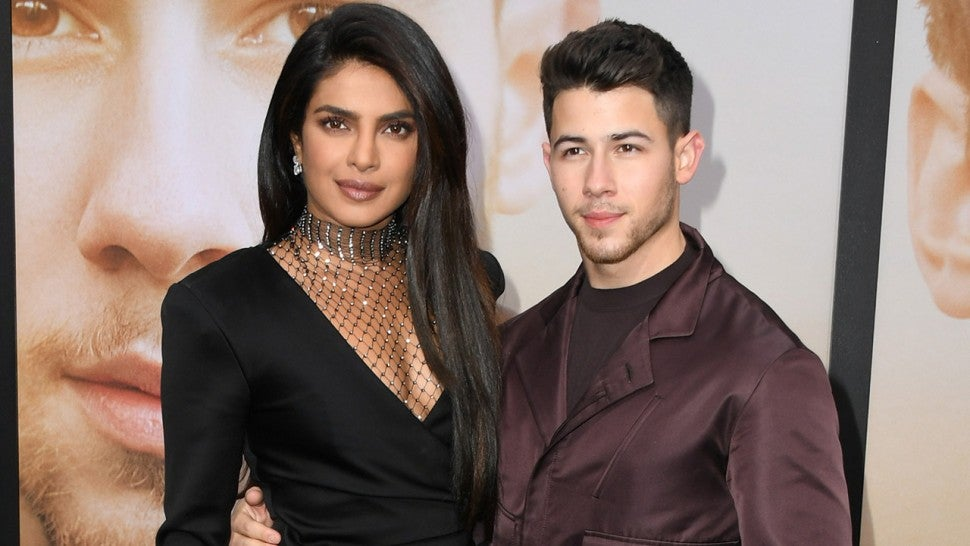 Priyanka Chopra and Nick Jonas at Chasing Happiness premiere 1280
